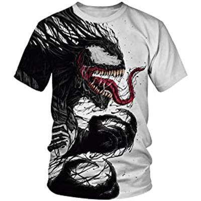 Camiseta con estampado de Venom