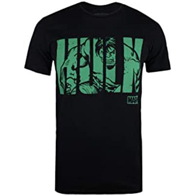 Camiseta con texto de Hulk