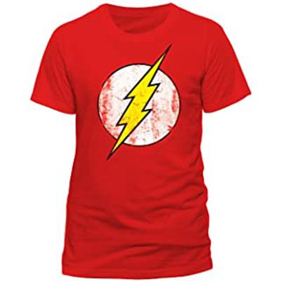 Camiseta de Flash con cuello redondo