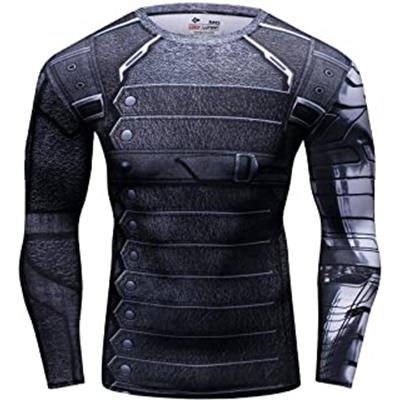 Camiseta de compresión Winter Soldier
