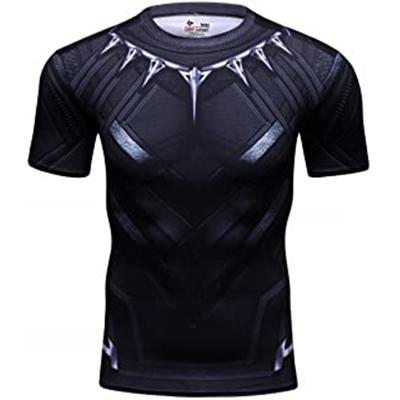 Camiseta de compresión de Black Panther