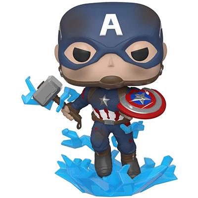 Funko Pop Capitán América Escudo Roto