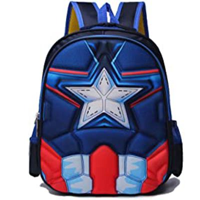 Mochila del Capitán América 3D