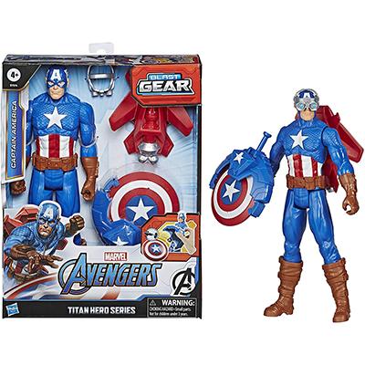 Titan Capitan América con accesorios