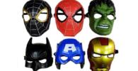 Máscaras de superheroes