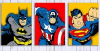 Posters y Cuadros de Superheroes
