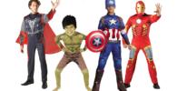 Trajes de superheroes