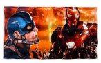 Toallas de Iron Man